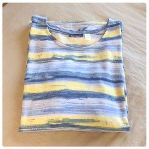 🌼🌸Beautiful Vibrant Fine Knit Top 3/4 Sleeve🌸🌼